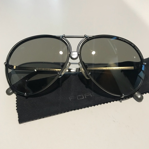 886907e5a0c Porsche Design Sunglasses 40Y anniversary 60mm